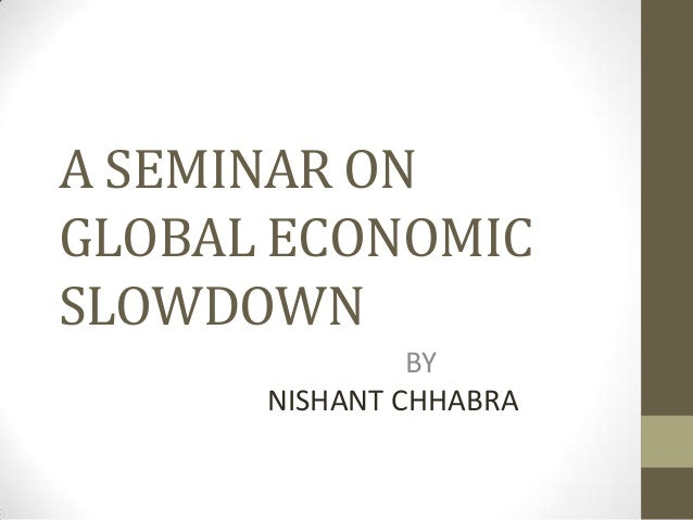 essay global economic recession impacts