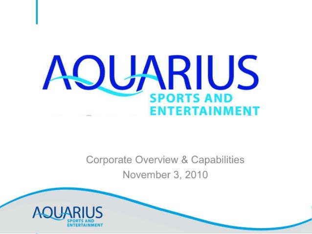 Aquarius SE Social and Digital Capabilities
