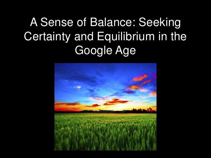 A sense of balance saron wasb_lead