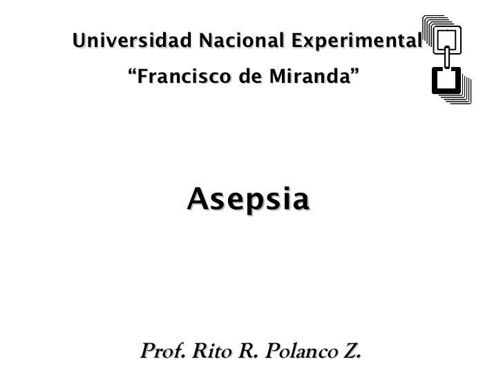 Asepsia2007