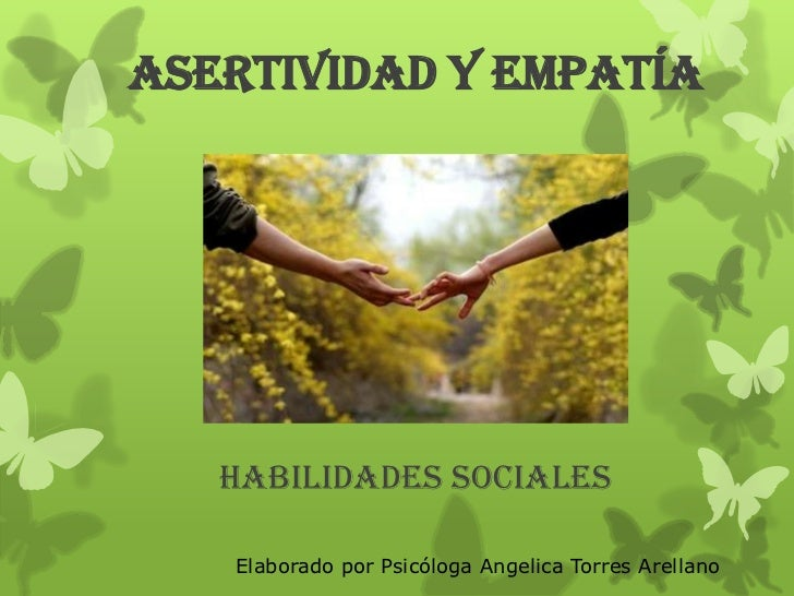 Asertividad y Empatía
