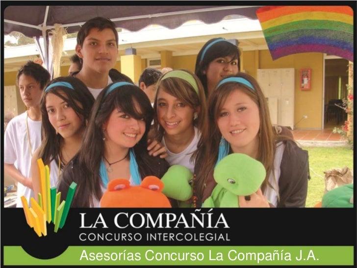 Asesorías Concurso La Compañía J.A.