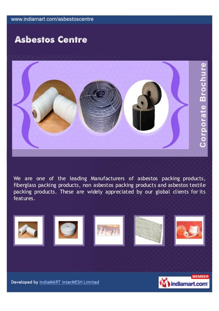 Asbestos Centre, Mumbai, Asbestos Packing Products