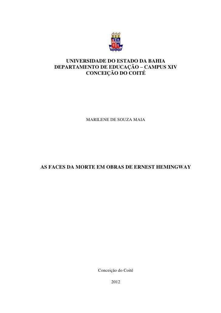 0       UNIVERSIDADE DO ESTADO DA BAHIA    DEPARTAMENTO DE EDUCAÇÃO – CAMPUS XIV             CONCEIÇÃO DO COITÉ           ...