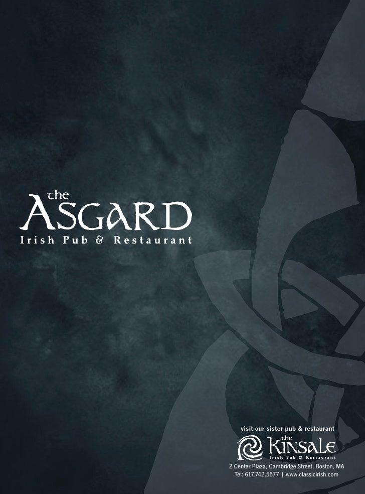 visit our sister pub & restaurant2 Center Plaza, Cambridge Street, Boston, MA  Tel: 617.742.5577 | www.classicirish.com
