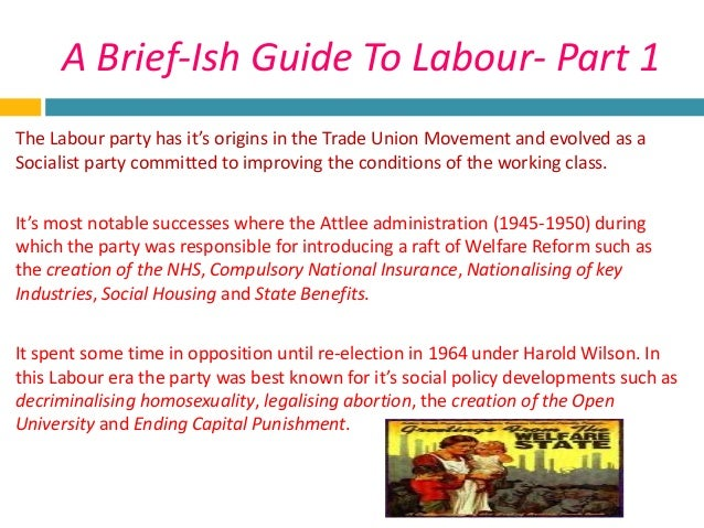 old labour new labour essay I'm currently taking a course on uk politics, and i have a few questions what are the differences between 'old' and 'new' labour did 'new.