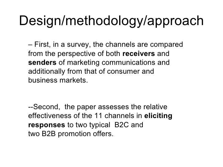 Essay Methodology