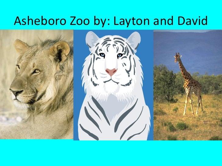 Asheboro Zoo by: Layton and David<br />