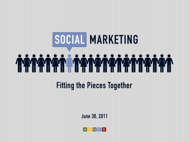 Social Marketing: Fitting the Pieces Together