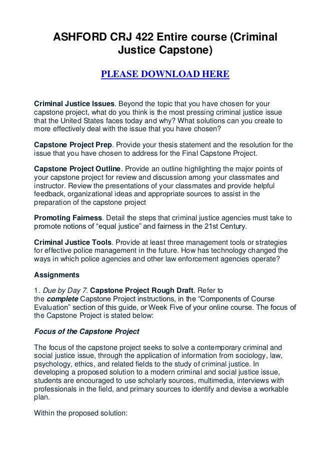 Criminal Justice free term paper example