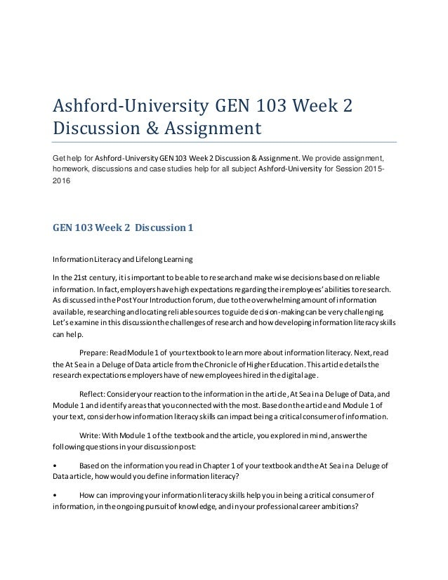 ashford 2 week 1 discussion 1 Academic paper homework help discussion 1: as noted, anthropology's work with the military over the years has been wrought with controversy where do you stand on the issue regarding the use of anthropologists in intelligence gathering for the military.