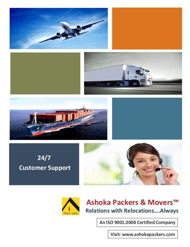 Ashoka packers and movers profile