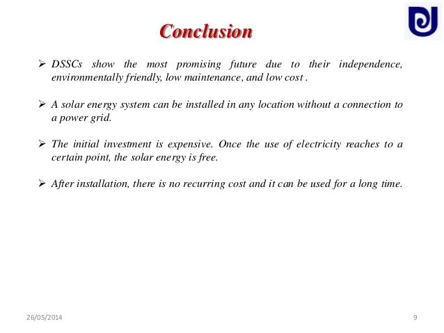 energy essay conclusion