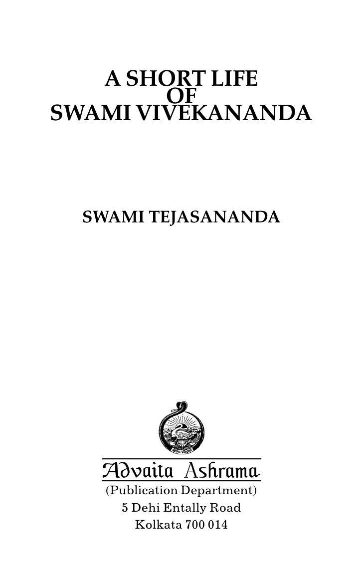 a short essay on swami vivekananda