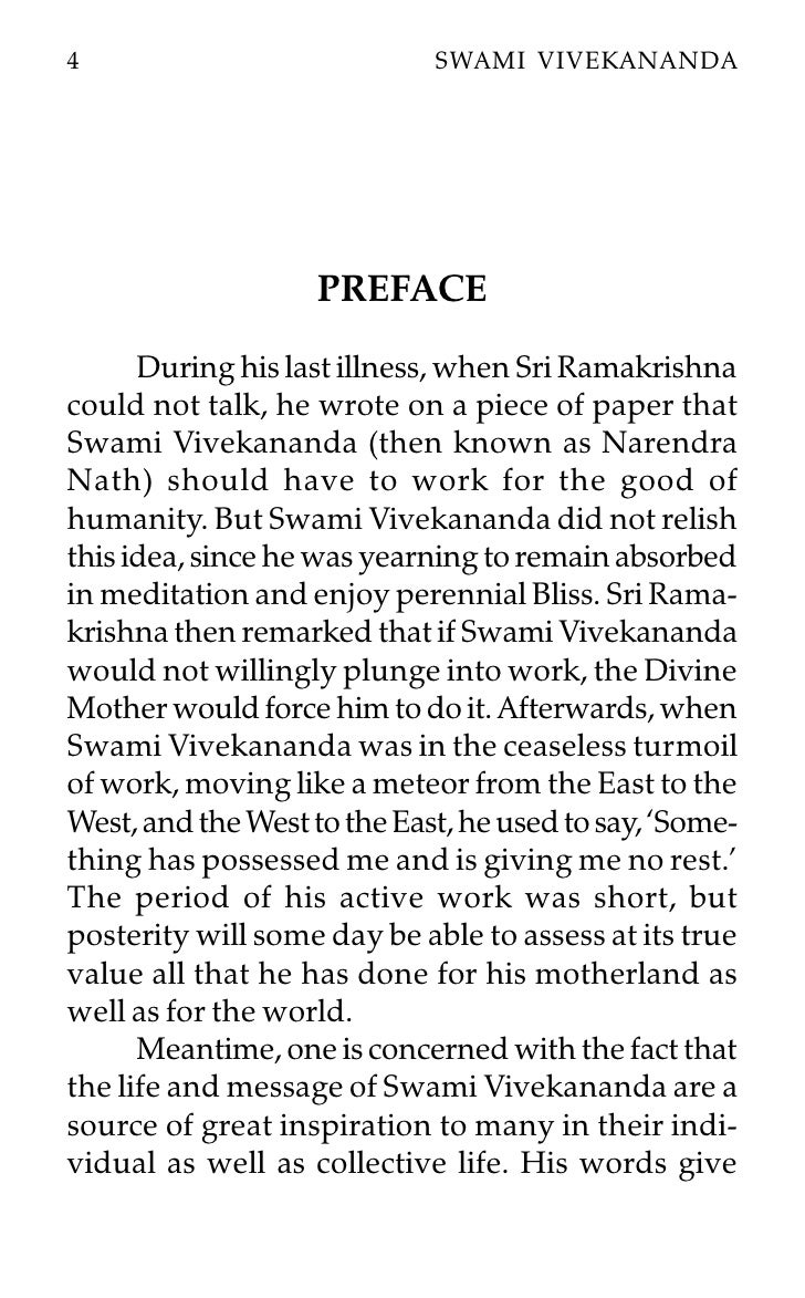 The Immortal Life Of Henrietta Lacks Essay Essay Swami Vivekananda What Is An Essay Thesis also Death Penalty Essay Topics Essay Swami Vivekananda Vivekananda Essay Athumb G Swamiji G  Table Of Contents For Essay