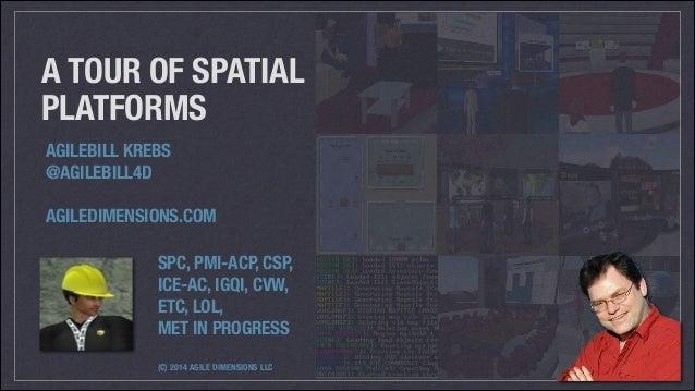 A Short Tour of Spatial Platforms