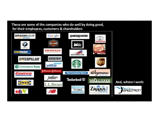 A short tutorial on why good companies do well by doing good & what americans want, jrp 101013 - Jane Payfer