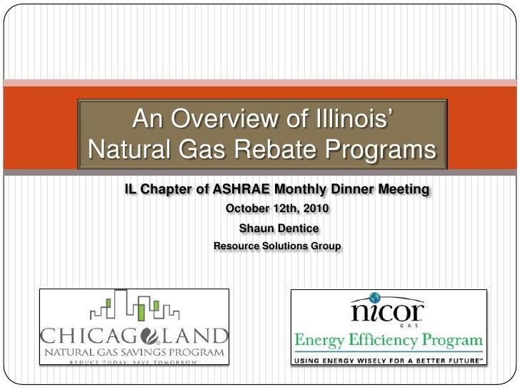 Natural Gas Rebate Programs