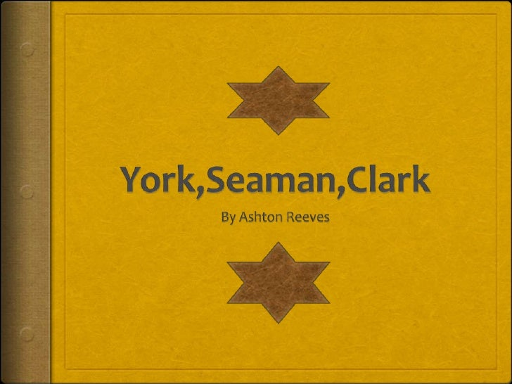 York,Seaman,Clark<br />By Ashton Reeves<br />