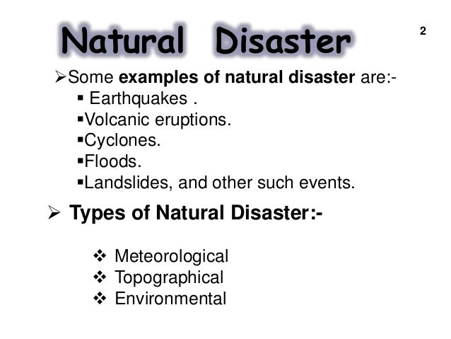 natural disasters essay conclusion examples