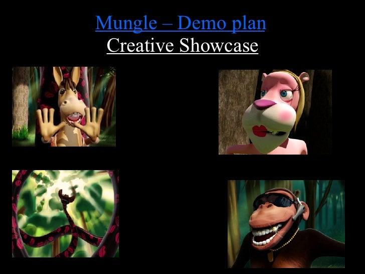 Mungle – Demo plan   Creative Showcase