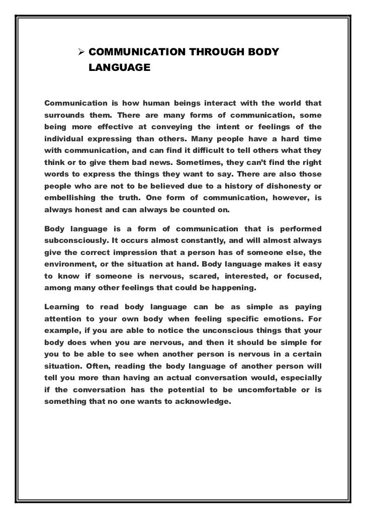 short essay on means of communication Means of communication introduction  lots of colour pages, plenty of photos, short articles, human interests stories and sensations, simple language,.
