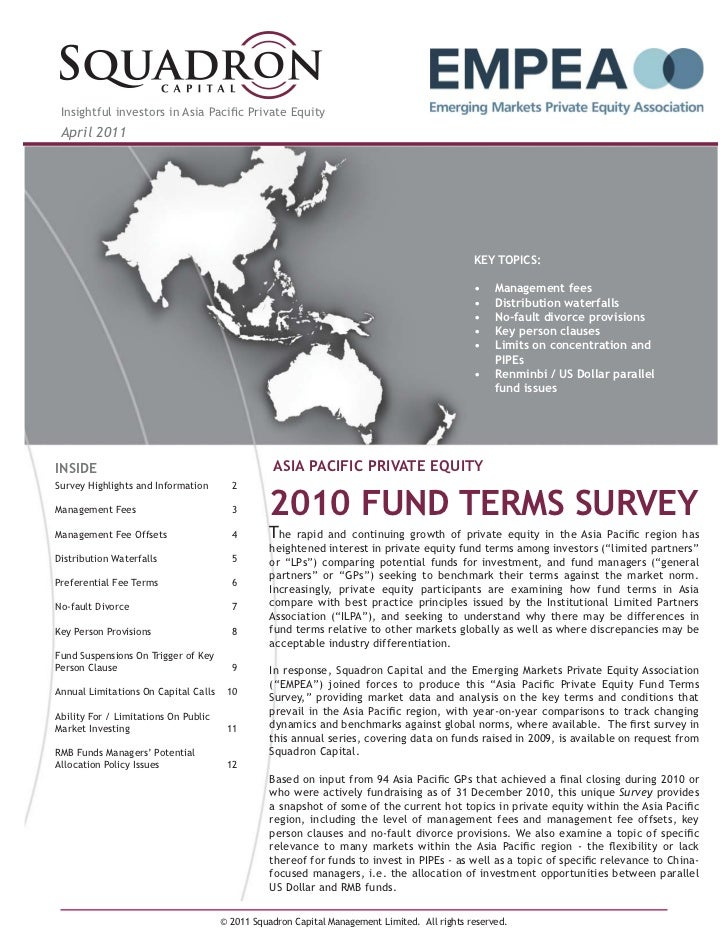 Insightful investors in Asia Pacific Private Equity April 2011                                                             ...
