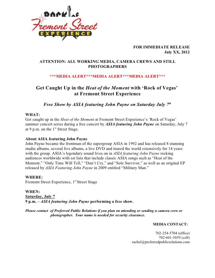 Asia feat. John Payne - Media Alert