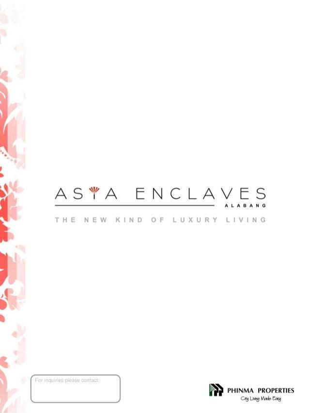 ASYA ENCLAVES in Alabang By Phinma Properties