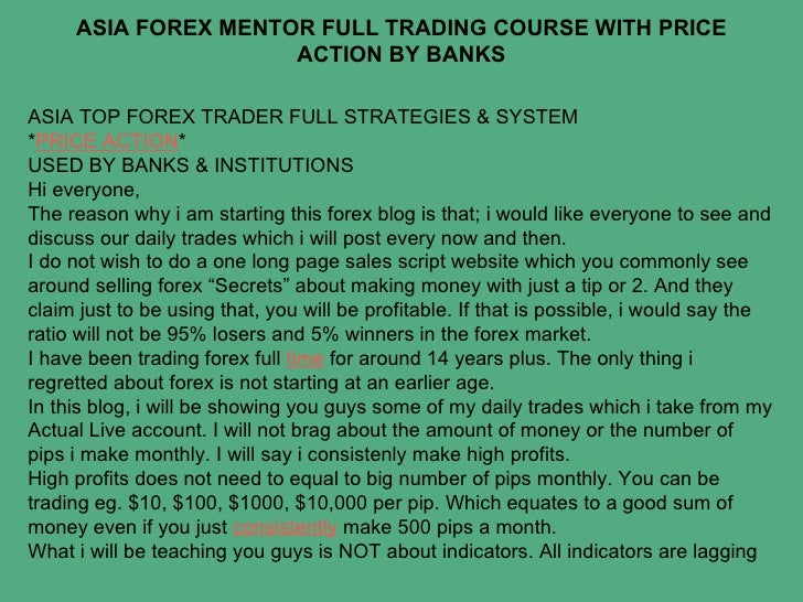Asia forex mentor download