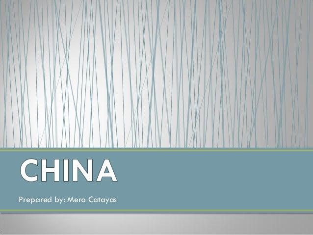 Asian 845 china catayas