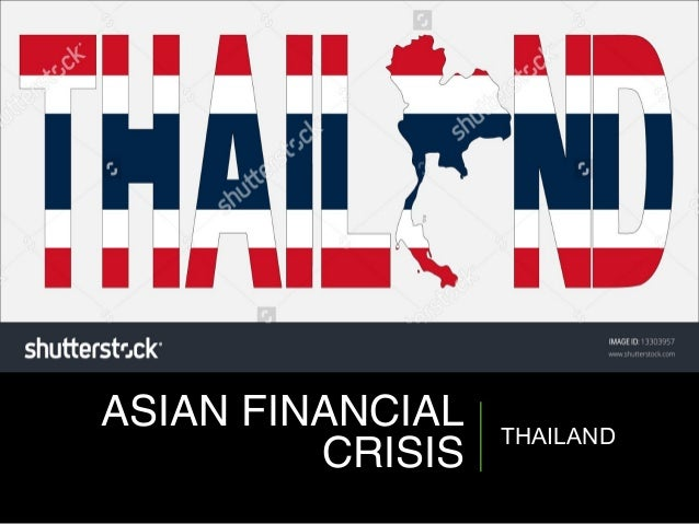 about thailand financial crisis