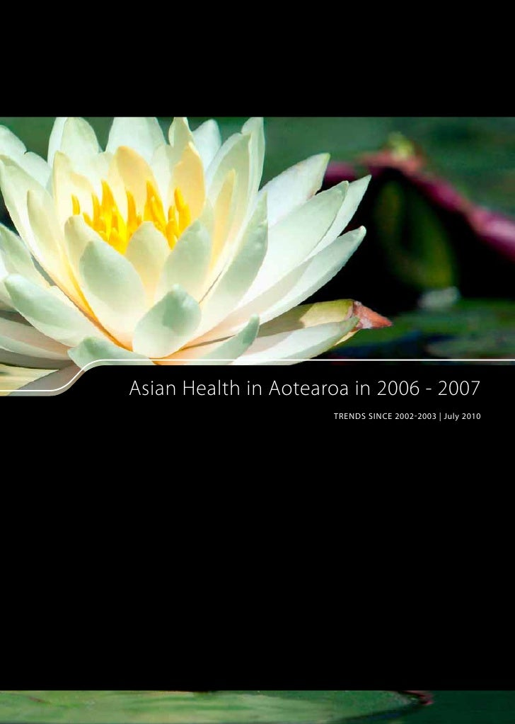 Asian Health NZ Trends