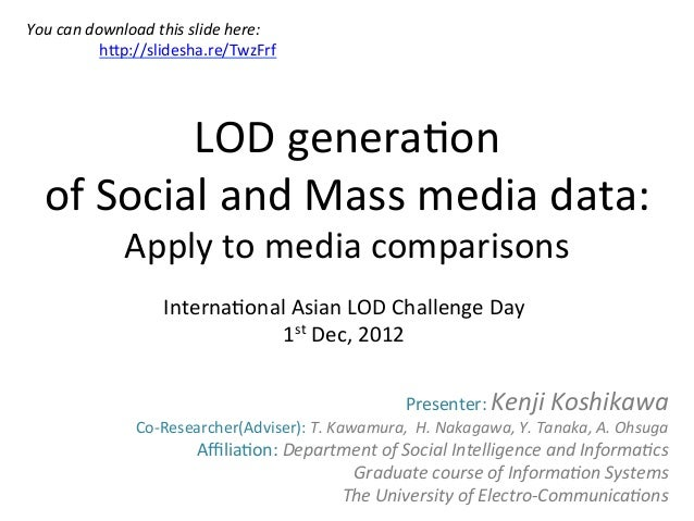 You	  can	  download	  this	  slide	  here:	                 	  	  hHp://slidesha.re/TwzFrf	  	                LOD	  gener...