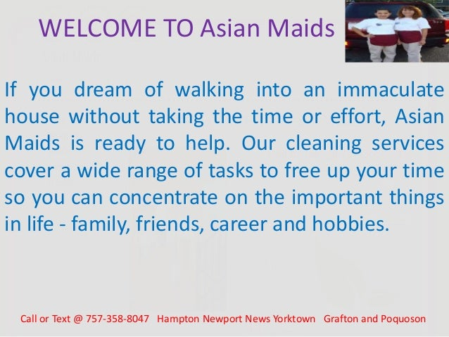 asian maids housekeeping newport news va