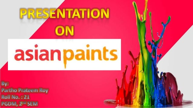 Asian Paints Limited is an Indian chemicals company headquartered in Mumbai, India. Established on February 1, 1942 by Cha...