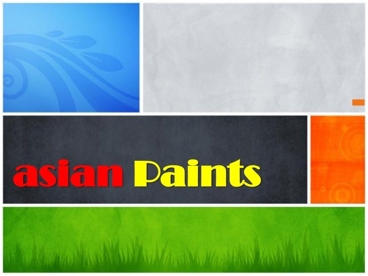 Would asian paints marketing strategies milfs