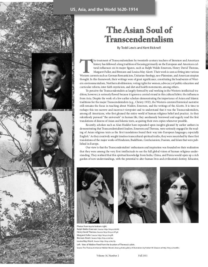 Asian Soul of Transcendentalism