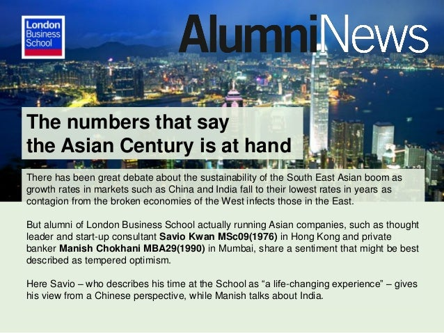 The numbers that say the Asian Century is at hand There has been great debate about the sustainability of the South East A...