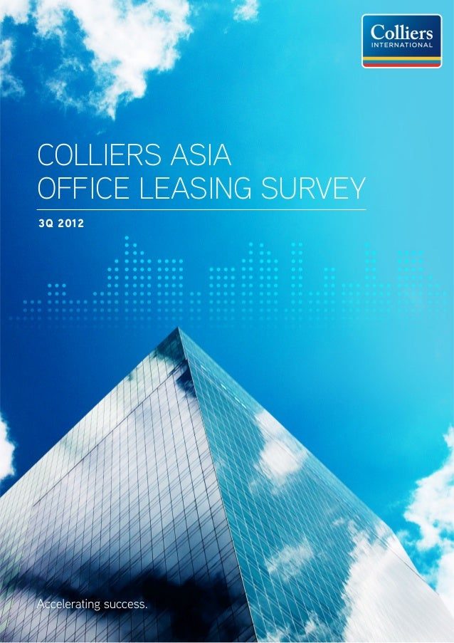 Colliers AsiaOffice Leasing Survey3Q 2012