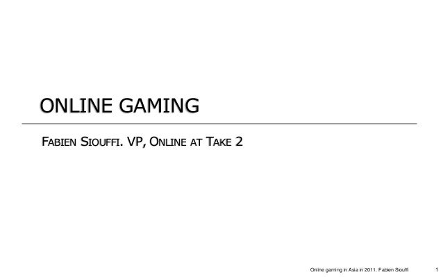 Online and Social gaming in Asia - A few tips