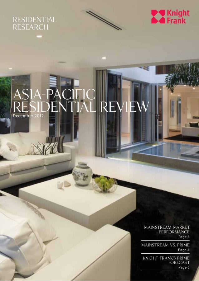 RESIDENTIALRESEARCHASIA-PACIFICRESIDENTIAL REVIEWDecember 2012                 MAINSTREAM MARKET                       PER...