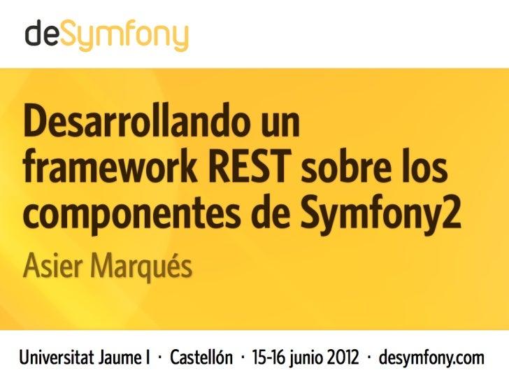 REST - deSymfony2012