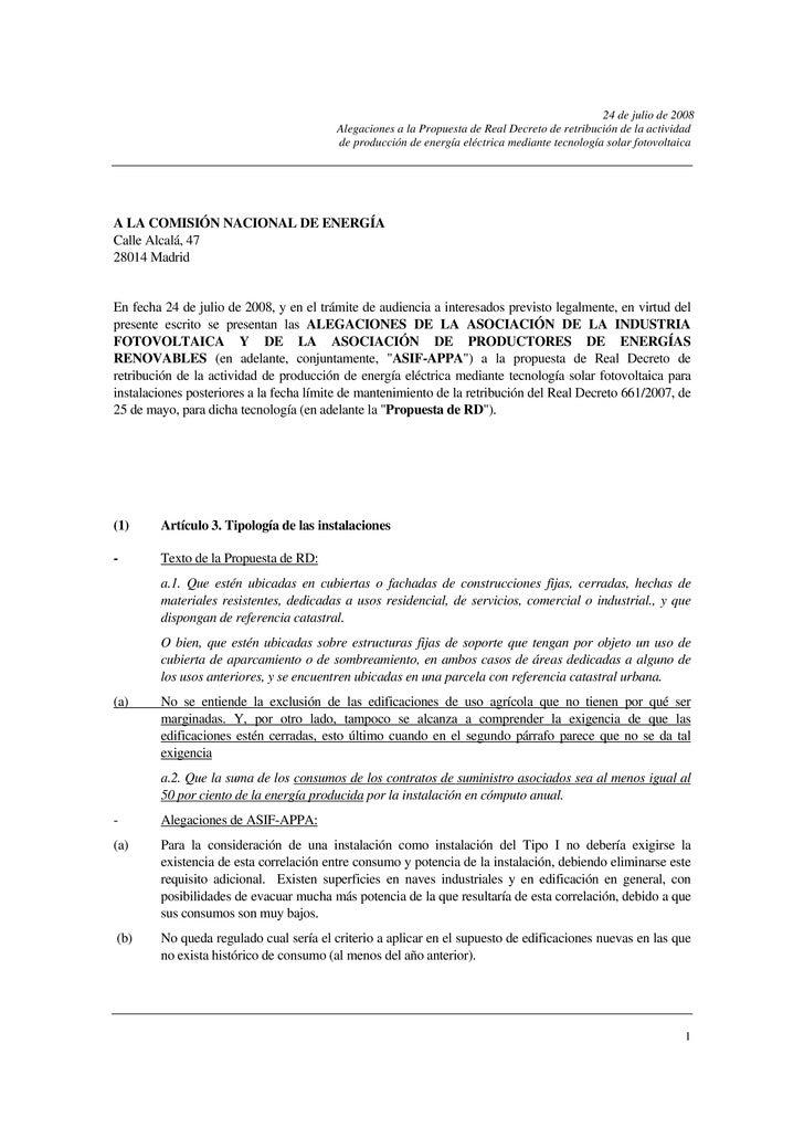 Asif Appa.+Alegaciones Energia Fotovoltaica