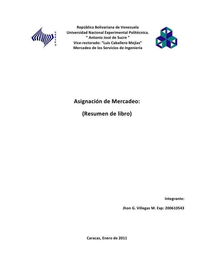 "República Bolivariana de VenezuelaUniversidad Nacional Experimental Politécnica.          "" Antonio José de Sucre ""   Vice..."