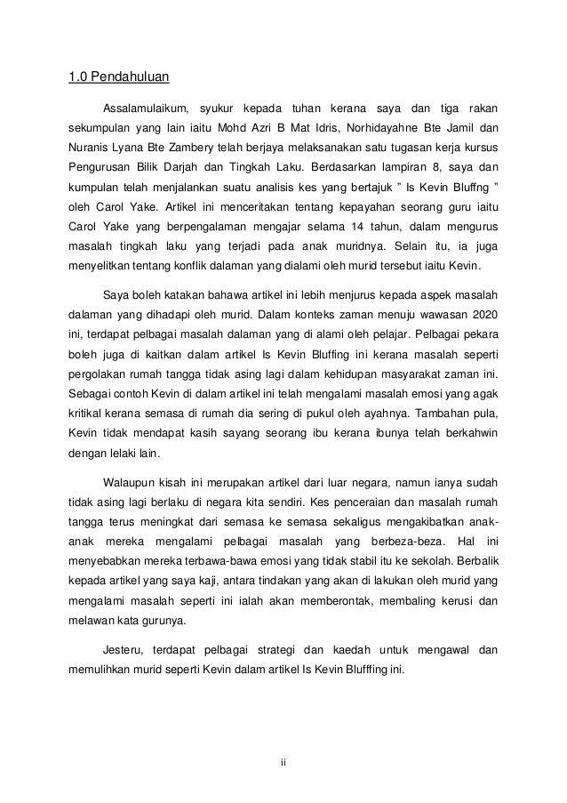 1.0 Pendahuluan       Assalamulaikum, syukur kepada tuhan kerana saya dan tiga rakansekumpulan yang lain iaitu Mohd Azri B...
