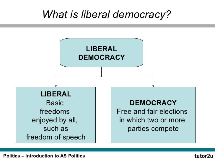what are the differences between social democracy and liberal democracy Socialism and democracy cannot be compared because it would just be like comparing apples to oranges since socialism is an economic system while democracy is a political ideology an economic system defines the manner of producing and distributing the goods and services of society while a political.