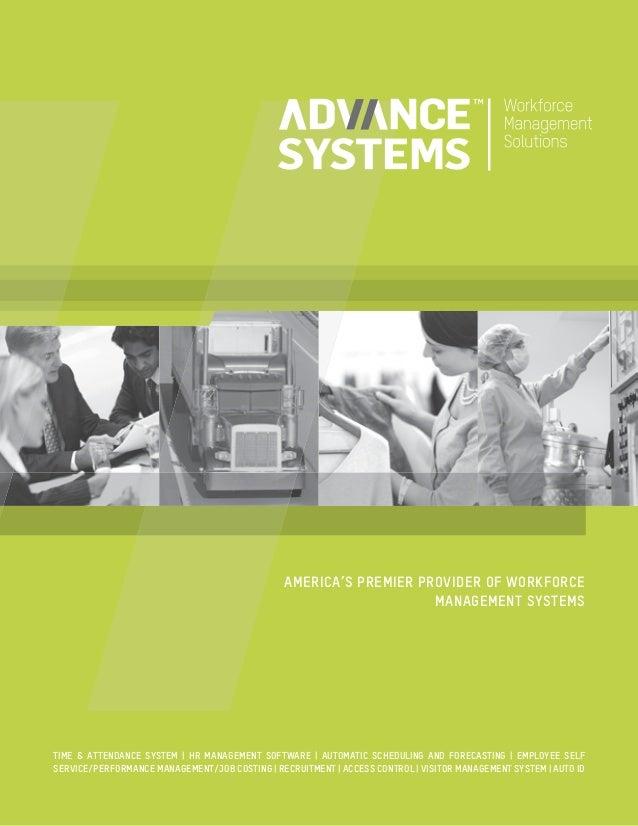 Advance Systems Brochure