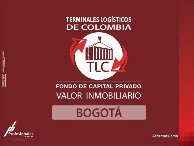 BOGOTÁ DE COLOMBIA TERMINALES LOGÍSTICOS