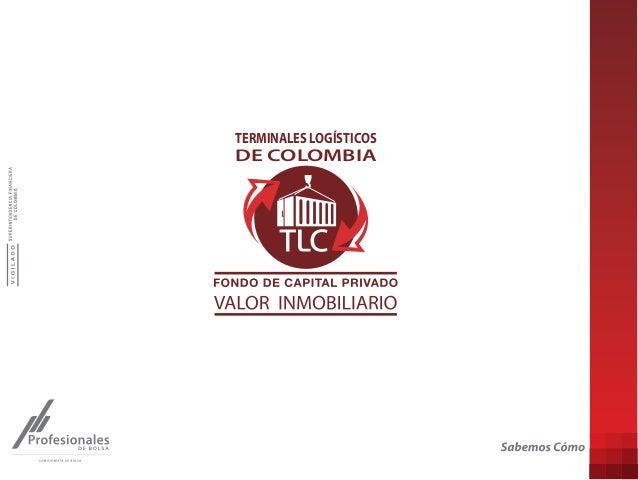 TERMINALES LOGÍSTICOS  DE COLOMBIA